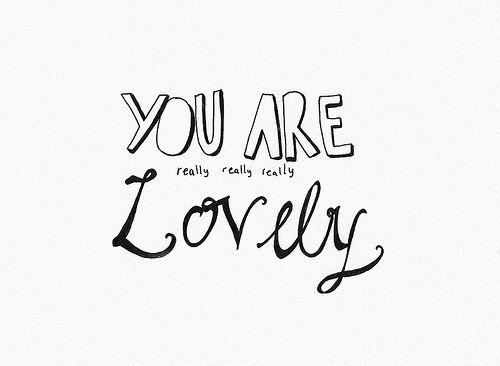 Lovely ❥