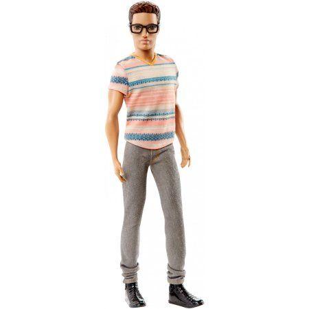 Barbie Fashionistas Ken Doll, Stylin' Stripes - Walmart.com