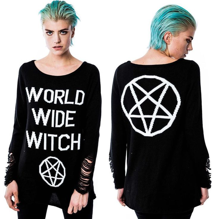 World wide witch. sweater for our online witches.
