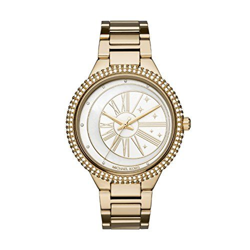 Montre Femme Michael Kors MK6550 Price:     - Couleur du bracelet : Doré- Couleur du cadran : Blanc- Fonctionnalités : Etanche 3 ATM- Marque : MICHAE...
