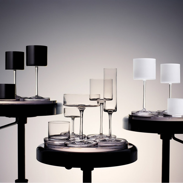 Orrefors- Karl Lagerfeld Glass Collection