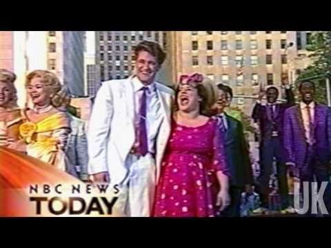 Hairspray OBC on the Today Show - yes, that's Mr. Shuster from Glee!!