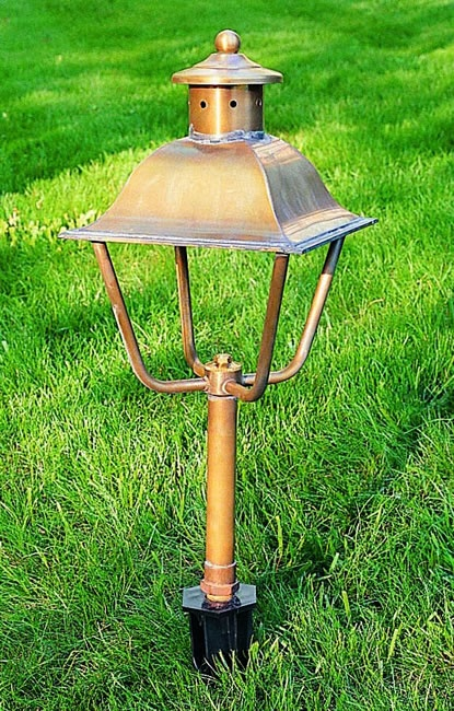 These Handcrafted Lights Would Be Perfect To Light Your Garden Pathways.  Line Voltage (low Voltage ...