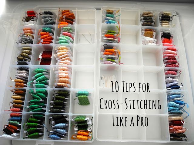 10 Tips for Cross-Stitching Like a Pro