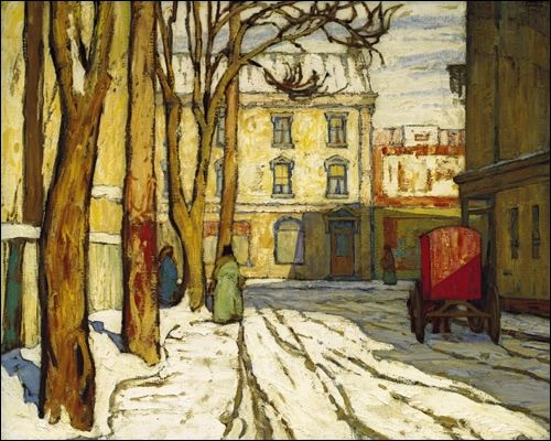 Toronto Street, Winter Morning - Lawren Harris