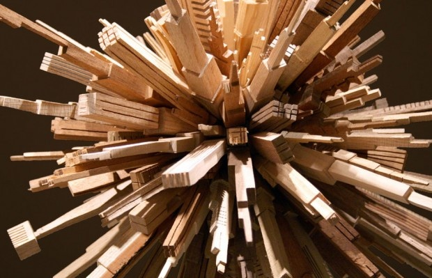 Wood-Carved Cities by James McNabb
