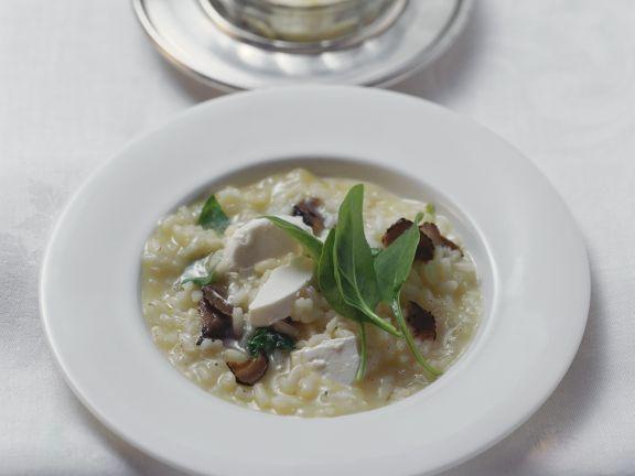 Risotto mit Trüffel und Frischkäse ist ein Rezept mit frischen Zutaten aus der Kategorie Pilze. Probieren Sie dieses und weitere Rezepte von EAT SMARTER!