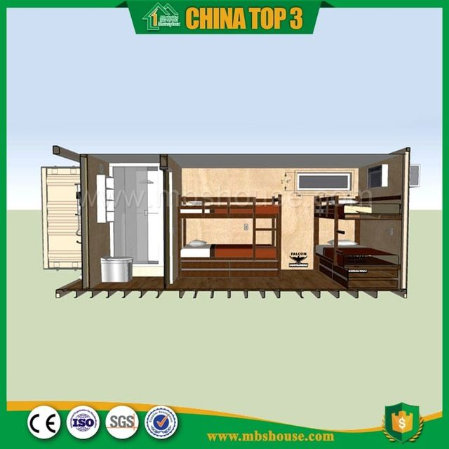 Source One bedroom one bathroom 40ft container house floor plan on m.alibaba.com