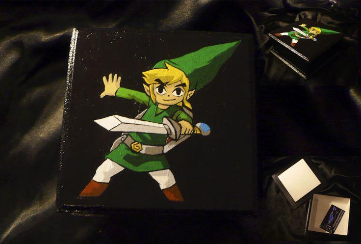 Caja Zelda 11x11 cm.