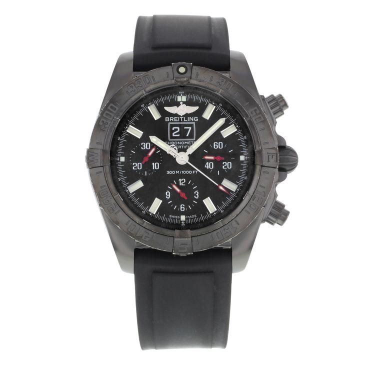 Breitling Blackbird Blacksteel M44359 Stainless Steel Automatic Men's Watch