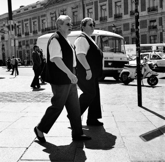 """De la serie """"Par de dos"""" @ Luis Baylón. Publicado en revista Ojos Rojos #1"""