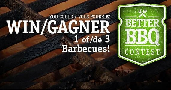 Win 1 of 3 Barbecues from Cavendish Farms