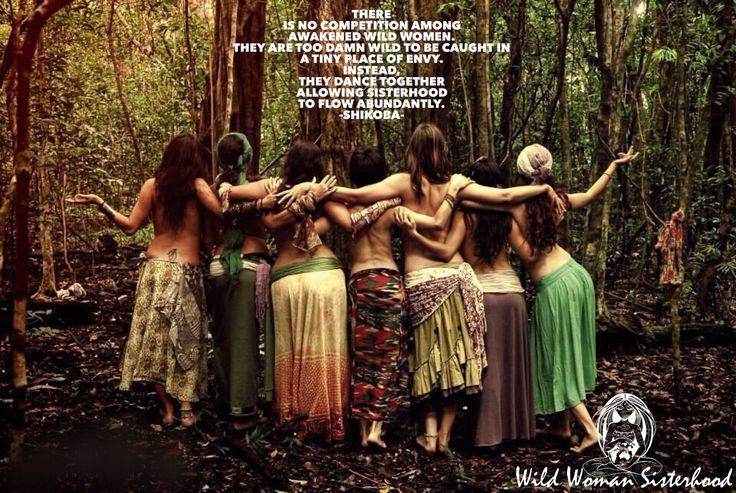 There is no competition among awakened Wild Women. They are too damn WILD to be caught in a tiny place of envy. Instead, they dance together allowing Sisterhood to flow abundantly. -Shikoba-  WILD WOMAN SISTERHOOD™ © Shikoba July 2015 #wildwomanquotes #shikobaquotes #wildwomansisterhood #awakened #sisterhood #sacredsisters #womanspiritrising #rewild
