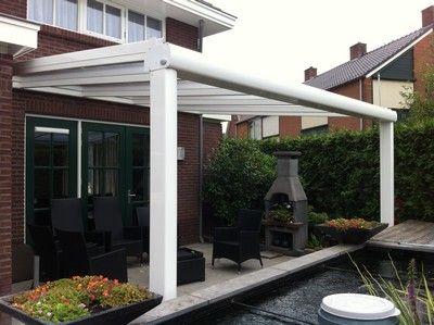 59 best images about veranda porch buitenverblijf on pinterest garage wands and porches - Aluminium pergola met schuifdeksel ...