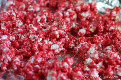 Fruity Candy Popcorn {AKA Jello Popcorn}