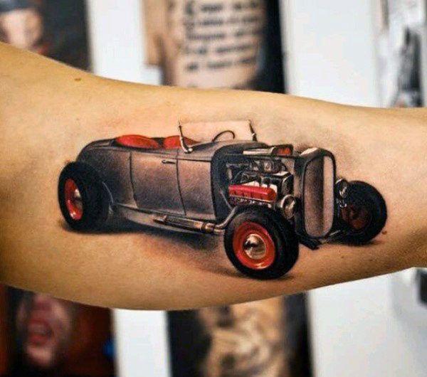Tatuaje del coche Fotos - http://tatuajeclub.com/2016/06/11/tatuaje-del-coche-fotos.html