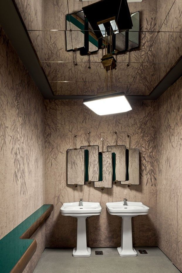 CERESIO 7 POOLS & RESTAURANT, Milan- Interior design by Dimore Studio