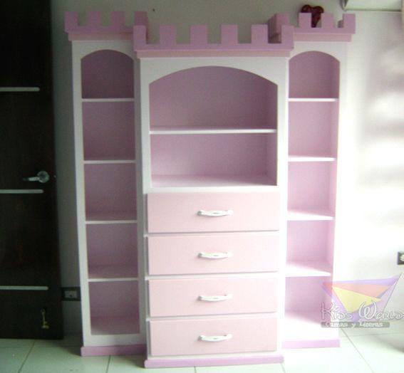 Girls ertidos muebles madera ni 241 a infantiles muebles pink
