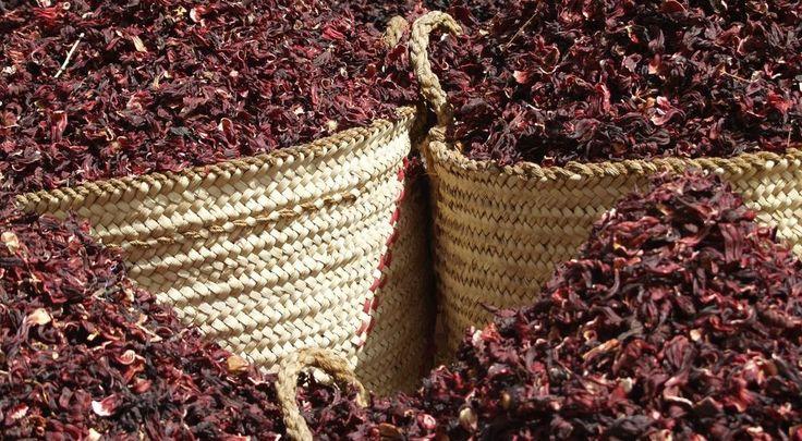HIBISCUS KARKADEH RED ROSE TEA Drink Organic Loose Flower Roselle Sabdariffa #Unbranded