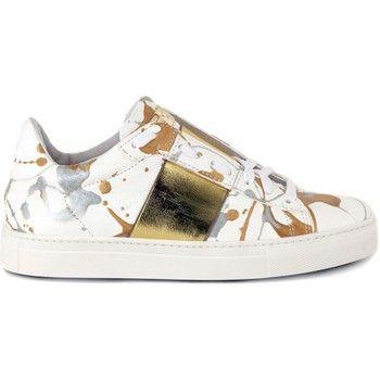 fantastische Stokton alice gold dames sneakers (Multi)