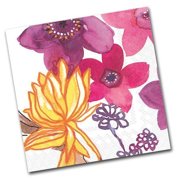 10 best floral paper napkins images on pinterest paper napkins adele floral paper napkins luncheon mightylinksfo
