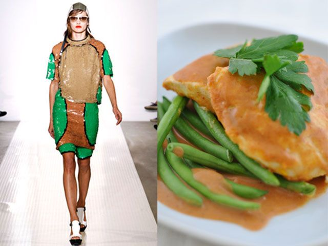 Marni ss 2011 / Curry chicken