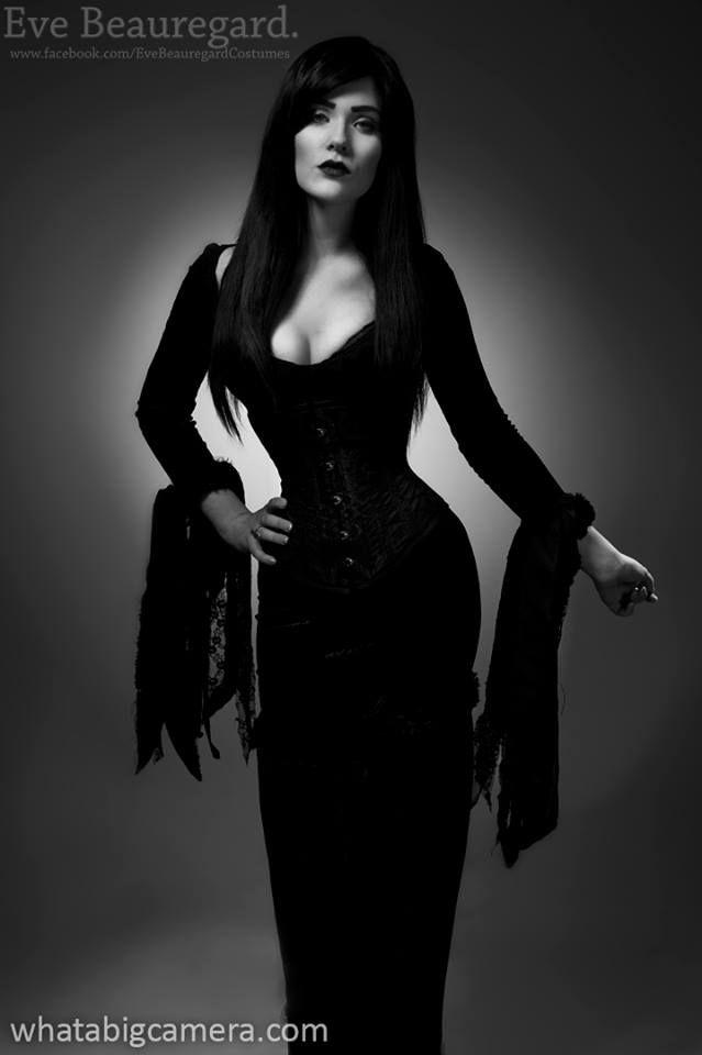 The Adams Family - Morticia  Cosplayer: Eve Beauregard * Photographer: WhatABigCamera.com