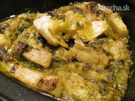 Ryba na cesnakovo-bylinkovom masle (fotorecept) - Recept