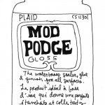 Mod Podge formula guide. Handy to know, especially if like me you're only just starting to discover Mod Podge.