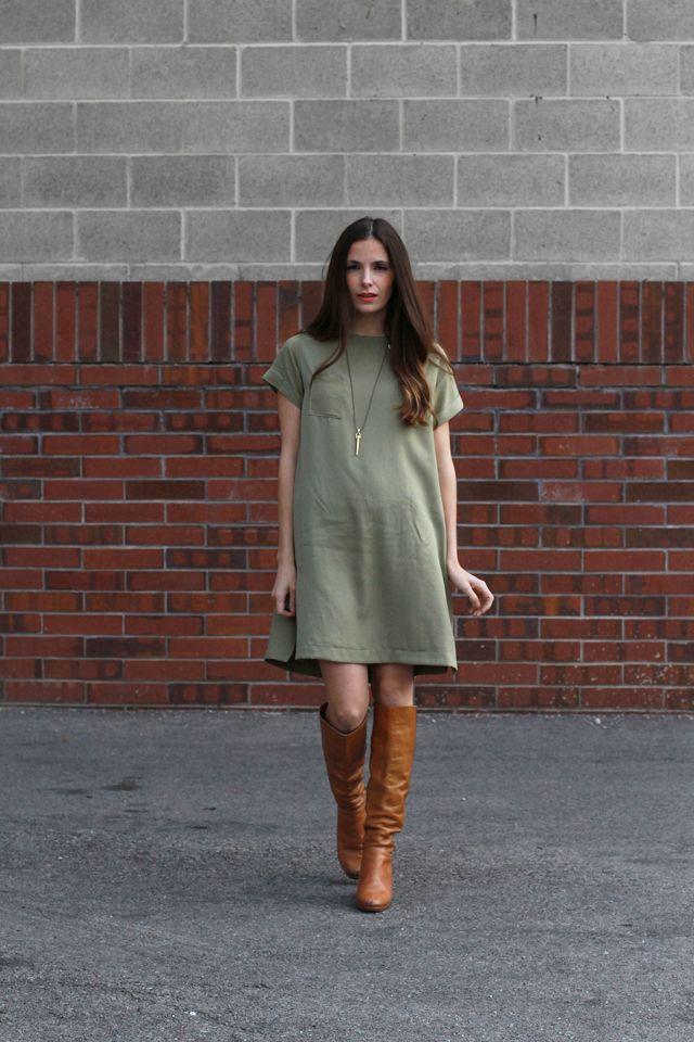 diy box dress