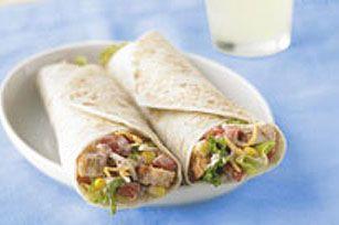 Repensez le sandwich à la salade de poulet! Cette version tex-mex est très «portative» mais peut aussi être savourée au souper, à la maison.