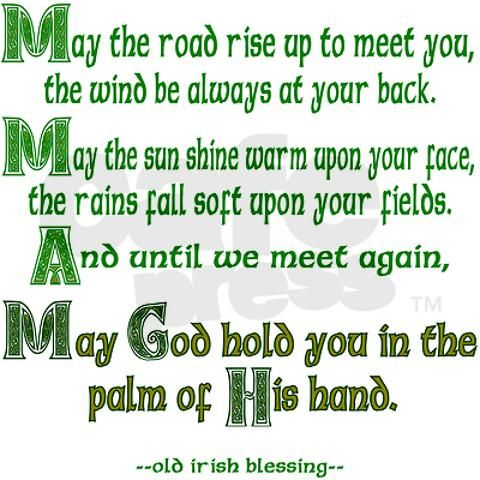 I have always loved this Irish blessing!