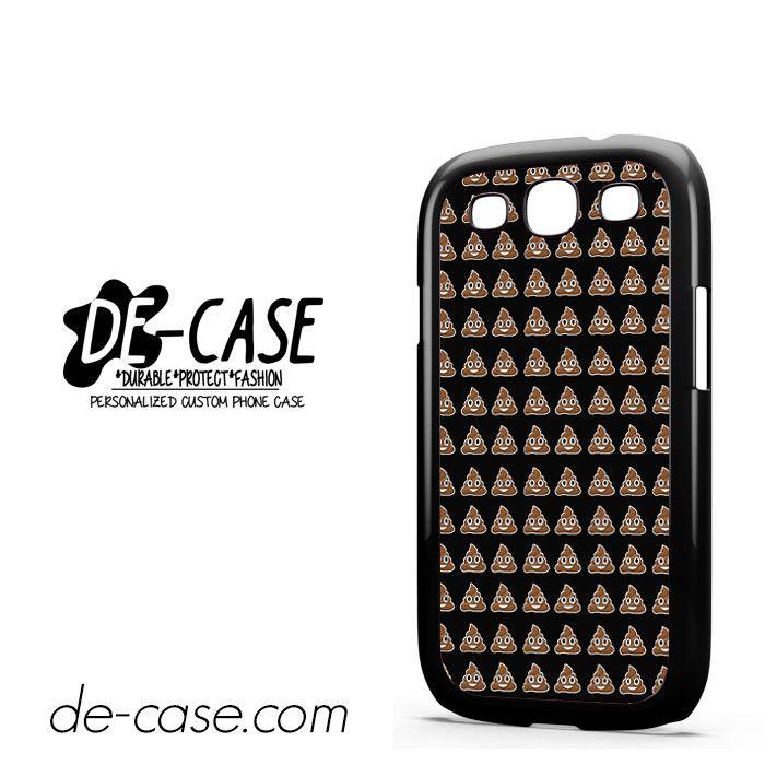 Emoji Poop Funny Emoticon Symbol DEAL-3960 Samsung Phonecase Cover For Samsung Galaxy S3 / S3 Mini
