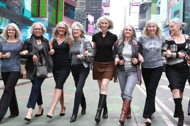 For some older women, letting their hair go gray and long allows hem to defy attitudes about femininity and sexuality.
