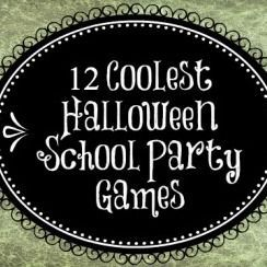 Here are 12 fun Halloween games to play with your students. :)