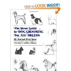 20 best dog grooming books images on pinterest dogs dog the stone guide to dog grooming for all breeds solutioingenieria Choice Image