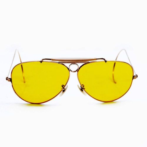 Vintage Ray Ban Bausch and Lomb Gold Filled Kalichrome Shooter Sunglasses