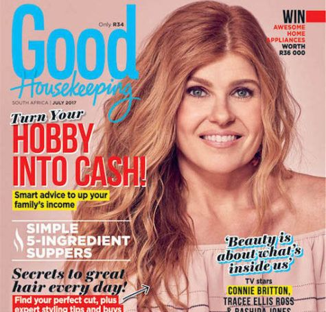 Get the July issue of GH today! The new issue of Good Housekeeping magazine with the inspiring Connie Britton on the cover is on sale now! Here's what you can expect inside: