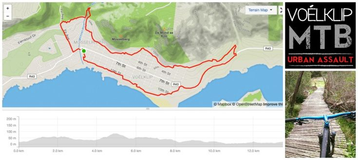 Voelklip MTB route - Free for all, no permits needed