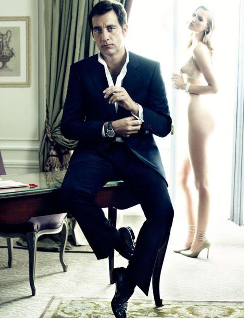 Clive Owen, Suit up. Classic