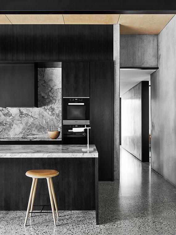 Terrazzo floor in private residence by Flack Studio