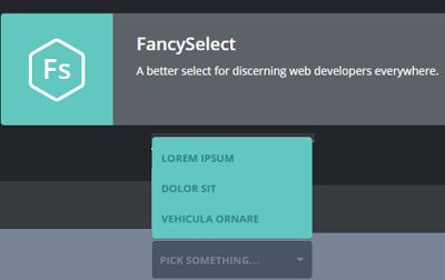 10 jQuery Plugins to make select box/list awesome