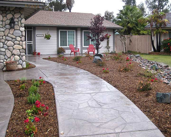 The 25+ best Stamped concrete walkway ideas on Pinterest | Stamped ...