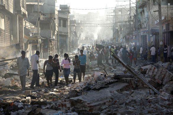 haiti earthquake 2010   ... section in I.E.S. Luanco » A bad start for 2010: Haiti earthquake