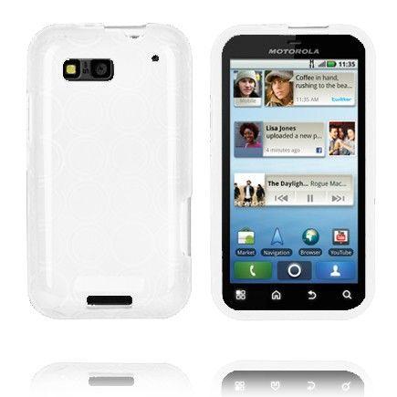 Amazona (Valkoinen) Motorola Defy Silikonisuojus