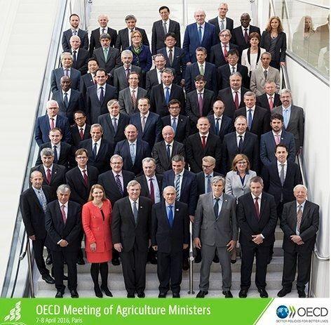 La Conferencia Ministerial de Agricultura de la OCDE adopta principios políticos para lograr un sistema global de alimentación productivo y sostenible