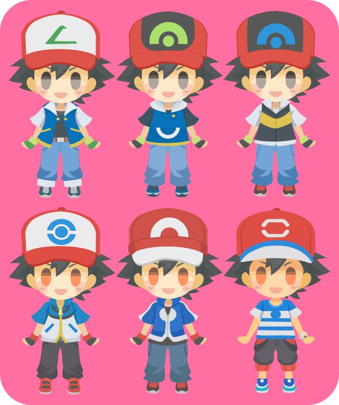 Ash Ketchum: from Kanto to Alola