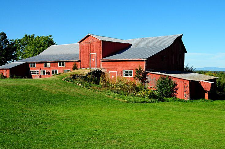Grange a l'americaine - St-Albans, Vermont