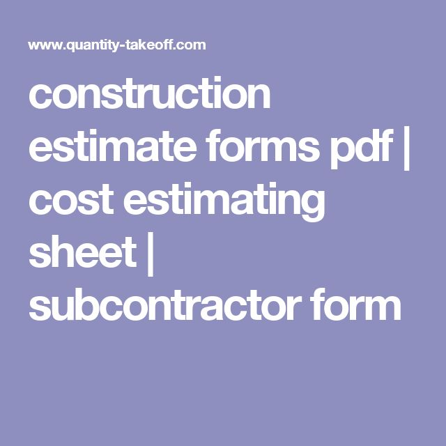 Best 25+ Construction estimator ideas on Pinterest Sagrada - contractor estimate