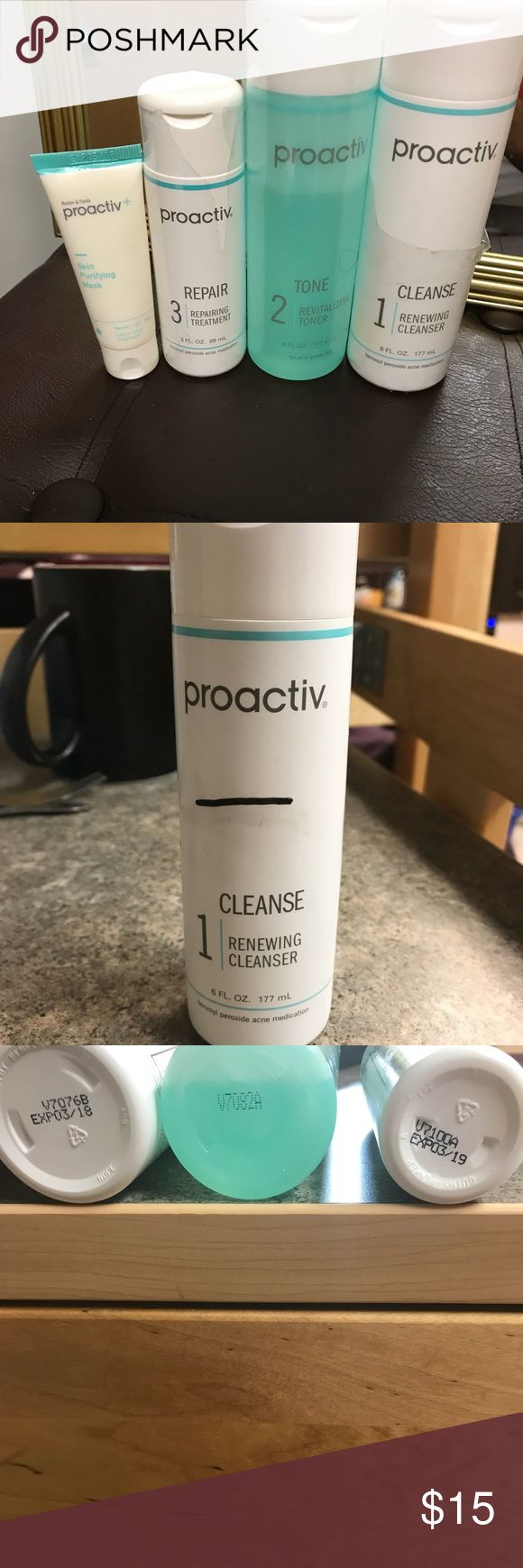 Used Proactiv kit It was a 3 month supple still has about 2 months left Bundle and save 10% with my brand new proactiv kit proactiv Other